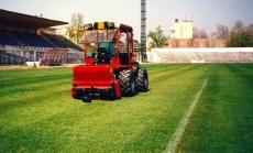 taglio del campo di calcio