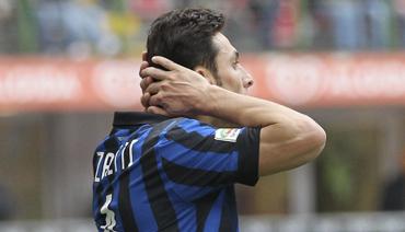 la disperazione di Javier Zanetti