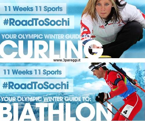 gli sport invernali alle olimpiadi di sochi