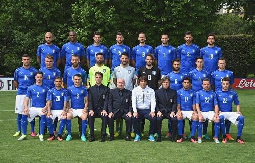 nazionale italiana euro 2016