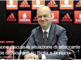 Fassone garantisce sul bilancio del Milan