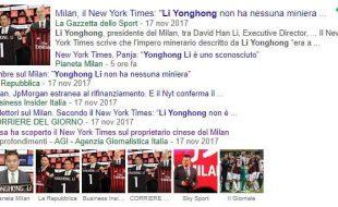 inchiesta NYT proprietà Milan