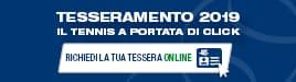 federtennis richiedi tessera online