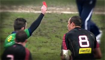 rosso a Sergio Parisse