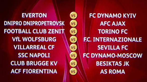 ottavi di europa league 2015
