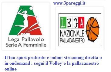 streaming sport minori