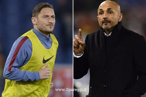 Totti vs Spalletti