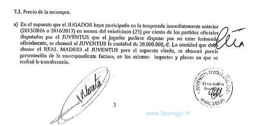 la firma di Morata