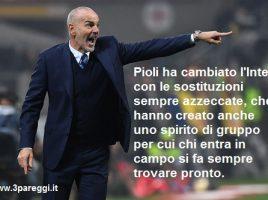 Stefano Pioli all'Inter