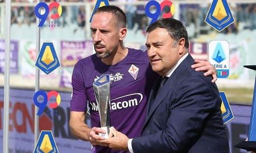 MVP Serie A Frank Ribery