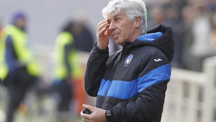 L'allenatore dell'Atalanta Gasperini